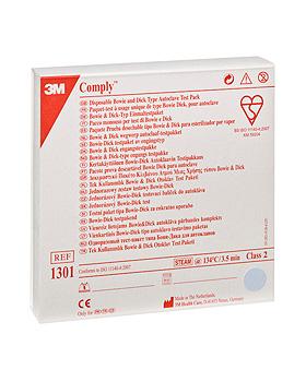 3M Comply Bowie-Dick Einmaltestpakete nach EN-ISO, 13 x 3 x 13 cm (20 Stck.), 3M Medica, medishop.de