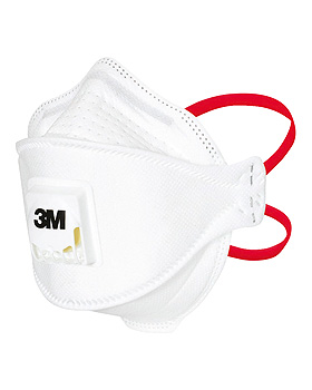 Aura Atemschutzmasken FFP3, mit Ventil (10 Stck.), 3M Medica, medishop.de