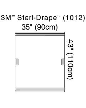 3M Steri-Drape Geräteabdeckungen 90 x 110 cm (10 Stck.), 4 Packungen, 3M Medica, medishop.de
