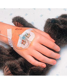 3M Tegaderm I.V.Transparentverband steril, für Kinder 5 x 5,7cm (100 Stck.), 3M Medica, medishop.de