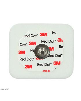 3M Red Dot EKG-Überwachungselektroden f. Erw. f.Intensiv 3,5 x 4 cm (50 Stck.), 20 Beutel, 3M Medica, medishop.de