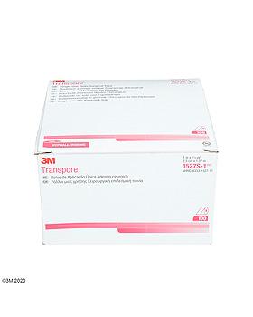 3M Transpore Fixierpflaster transparent, 2,5 cm x 1,37 m (100 Stck.), 3M Medica, medishop.de