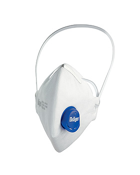 Atemschutzmaske X-plore 1730 V FFP3 NR D mit CoolMAX Ausatemventil, Dräger Safety, medishop.de