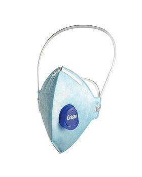 Atemschutzmaske X-plore 1720 V FFP2 NR D mit CoolMAX Ausatemventil, Dräger Safety, medishop.de