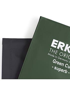 Rapidmanschette GreenCuff superb grau, komplett mit Blase, Doppelschlauch Gr. 4, Erka, medishop.de