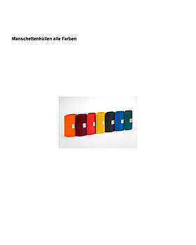 Klettenmanschette 2-Schlauch kpl. starke Oberarme, grün, Friedrich Bosch, medishop.de