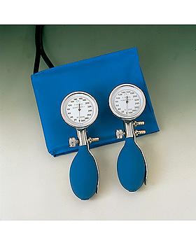 Konstante I Blutdruckmessgerät blau mit Stethoskop, Kunststoff verchromt,, Friedrich Bosch, medishop.de