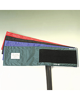Klettenmanschette 1-Schlauch schwarz, für starke Oberarme, Friedrich Bosch, medishop.de