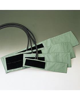 Klettenmanschette grün, f. Erw. kpl. 2-Schlauch, abwaschbar, Friedrich Bosch, medishop.de