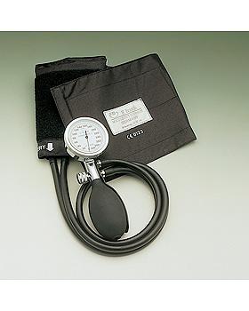 Konstante II Blutdruckmessgerät schwarz im Etui, Kunststoff verchromt, Friedrich Bosch, medishop.de
