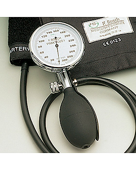 Manometer allein für Prakticus I Blutdruckmessgerät Ø 68 mm,, Friedrich Bosch, medishop.de