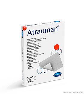 Atrauman Silicone Wundkontaktschicht steril, 10 x 20 cm (10 Stck.), Hartmann, medishop.de