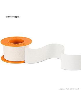 Omnipor Fixierpflaster 5 m x 1,25 cm, mit Sprengring, Hartmann, medishop.de