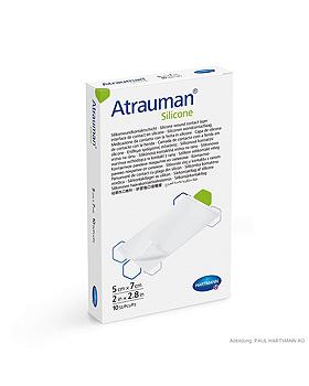 Atrauman Silicone Wundkontaktschicht steril, 5 x 7 cm (10 Stck.), Hartmann, medishop.de