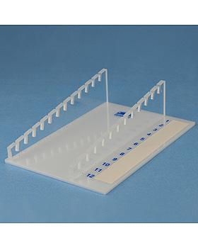 Ablagegestell aus Plexiglas für 12 Objektträger, Karl Hecht, medishop.de