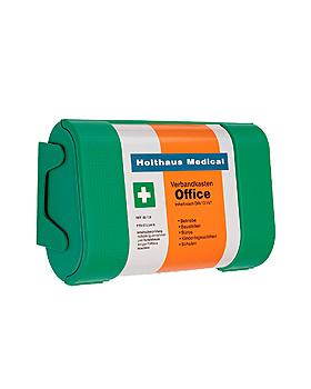 Office Verbandkasten, grün, gefüllt nach DIN 13157, Holthaus Medical, medishop.de