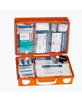 SAN Erste-Hilfe-Koffer leer, 31 x 21 x 13 cm, orange, Holthaus Medical, medishop.de