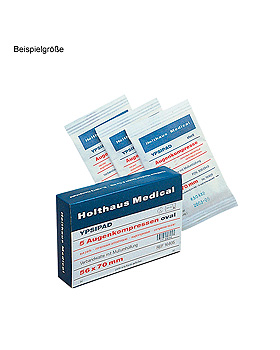 YPSIPAD Augenkompressen unsteril 56 x 70 mm (50 Stck.), Holthaus Medical, medishop.de