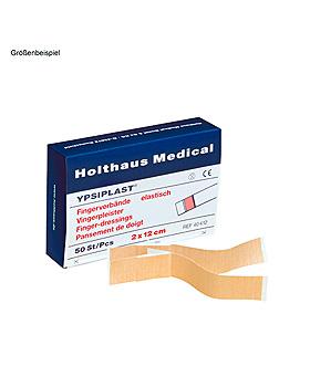 YPSIPLAST Fingerverbände elastisch hautfarben, 3 x 12 cm (100 Stck.), Holthaus Medical, medishop.de