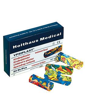 YPSIPLAST Kinderpflaster wasserfest (50 Strips), Holthaus Medical, medishop.de