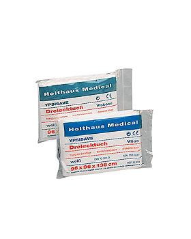 YPSISAVE Dreiecktuch, weiß, Vlies, 96 x 96 x 136 cm, Holthaus Medical, medishop.de