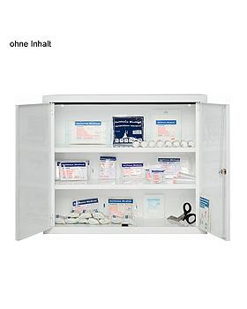Verbandschrank SECURITAS Stahlblech 60 x 70 x 25 cm, weiß, leer, Holthaus Medical, medishop.de