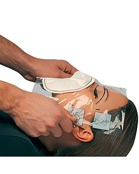 OXYSAFE Notfallbeatmungstuch mit Ohrschlaufen, Holthaus Medical, medishop.de
