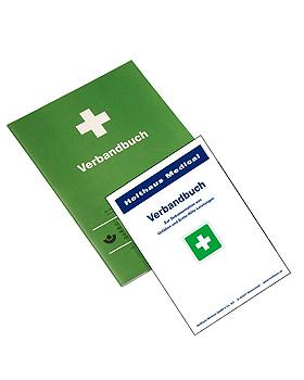 Verbandbuch DIN A4 nach BGI 511-2 grün (50 Bl.), Holthaus Medical, medishop.de
