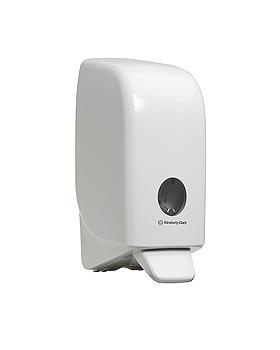 AQUARIUS Spender für Handreiniger 1 Ltr., weiß, 23,5 x 11,6 x 11,4 cm, Kimberly-Clark, medishop.de