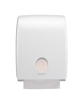 AQUARIUS Handtuchspender, Standard, weiß 40,7 x 31,7 x 15 cm, Kimberly-Clark, medishop.de