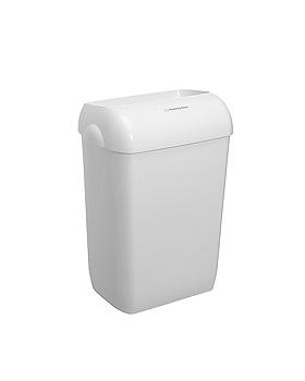 AQUARIUS Abfallbehälter Kunststoff weiß, 43 Ltr., 56,9 x 42,2 x 29 cm (2 Stck.), Kimberly-Clark, medishop.de