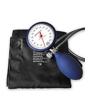 Blutdruckmessgerät ratiomed Doppelschlauch m. Klettenmanschette abw., ratiomed, medishop.de