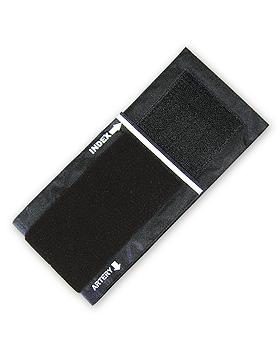 Klettenmanschettenbezug schwarz, ratiomed, medishop.de