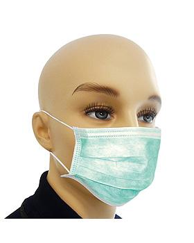 Einmal-Mundschutz ratiomed dental, grün mit Ohrschlaufen (100 Stck.), ratiomed, medishop.de