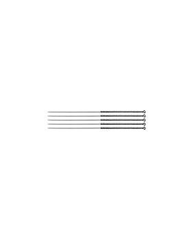 Akupunkturnadeln 0,30 x 30 A2 mit Silbergriff (100 Stck.), ratiomed, medishop.de