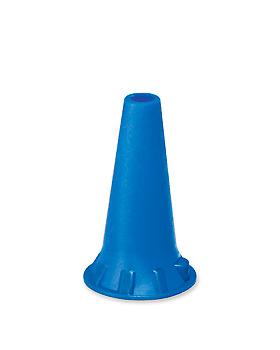 Einmal-Ohrtips 4,0 mm blau, für Erwachsene (50 Stck.), ratiomed, medishop.de