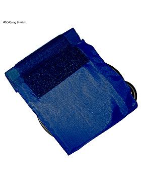Klettenmanschette für Erwachsene (Standard) blau, Doppelschlauch, Boso, medishop.de