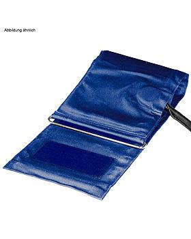Zugbügel-Klettenmanschette f. Erwachsene (Standard) blau, Einschlauch, Boso, medishop.de
