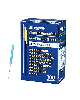 Akupunkturnadeln 0,20 x 15 S3 silikonbeschichtet (100 Stck.), ratiomed, medishop.de