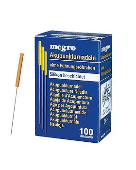 Akupunkturnadeln 0,30 x 30 S3 silikonbeschichtet (100 Stck.), ratiomed, medishop.de