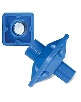 Bakterien-Virenfilter mit Mundstück blau (50 Stck.), ratiomed, medishop.de