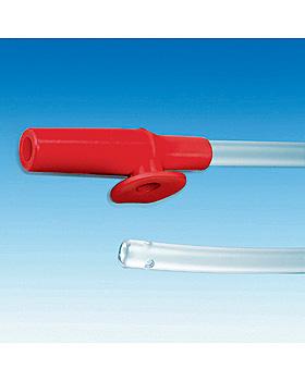 Einmal-Absaugkatheter ratiomed Ch. 18 rot, für Tracheostomietuben, 500 Stück, ratiomed, medishop.de