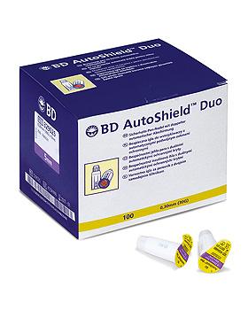 BD AutoShield Duo Sicherheits-Pen-Nadeln 0,30 x 5 mm (100 Stck.), Becton Dickinson, medishop.de