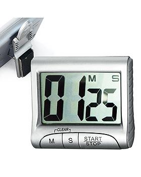 Digital Timer mit großem Display silber, ratiomed, medishop.de