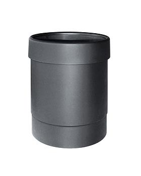 Abfalleimer Kunststoff schwarz 13 Ltr., ratiomed, medishop.de