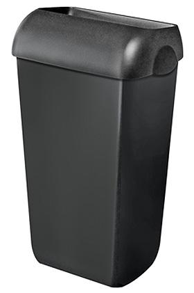 Abfalleimer Kunststoff schwarz 23 Ltr., ratiomed, medishop.de