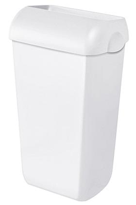 Abfalleimer Kunststoff weiß 23 Ltr., ratiomed, medishop.de