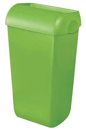 Abfalleimer Kunststoff grün 23 Ltr., ratiomed, medishop.de