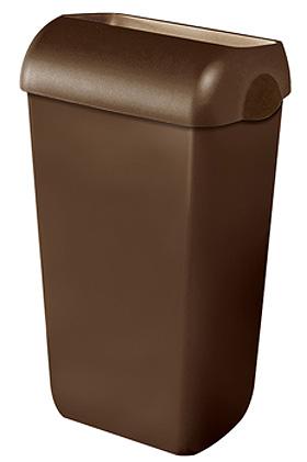 Abfalleimer Kunststoff braun 23 Ltr., ratiomed, medishop.de