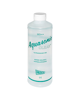 Aquasonic Clear Ultraschall-Kontaktgel 1 Ltr., Parker Inc., medishop.de